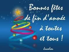 Le conseil municipal vous souhaite de très belles fêtes de fin d'année