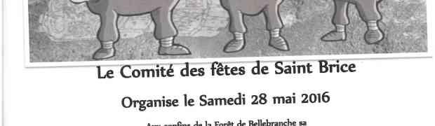 7eme randonnée gourmande le 28mai 2016 à Saint Brice